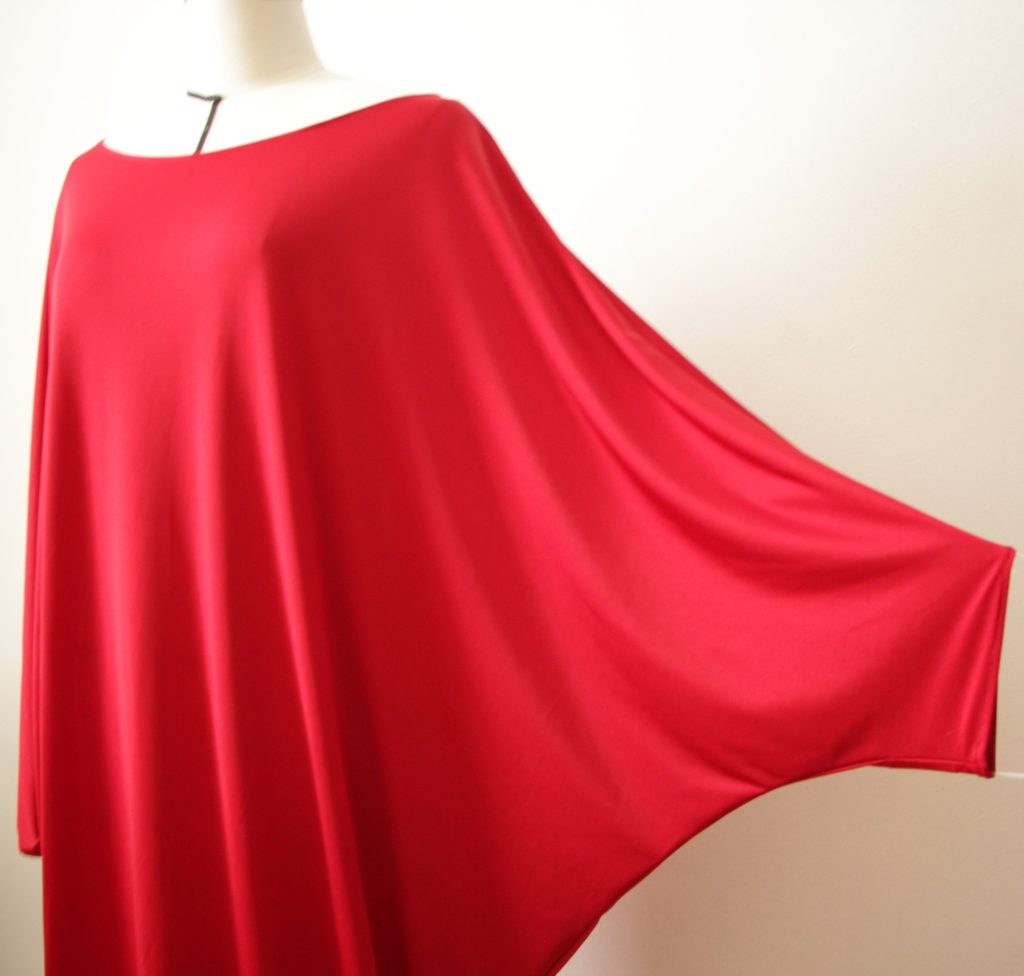 Prototype de robe rouge